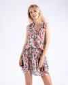 Sukienka Fraternity WL19_W-DRE-0281_FLOWERS wielobarwny