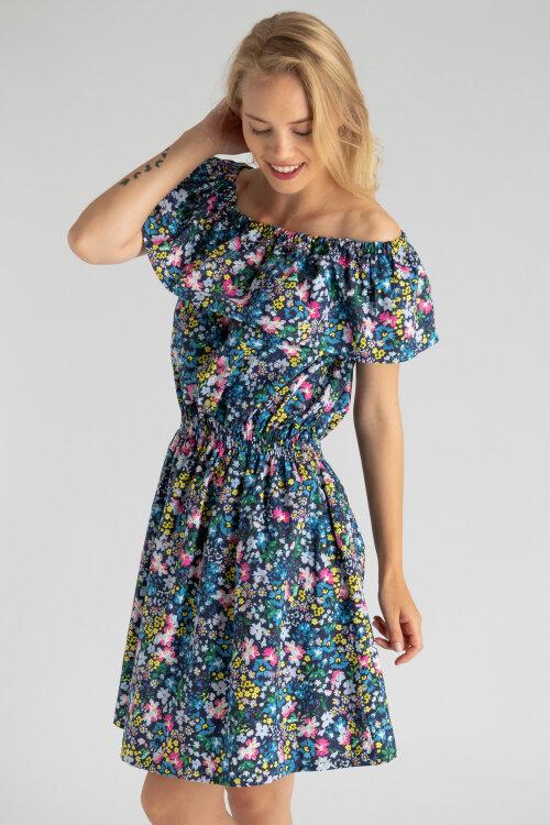 Sukienka Fraternity WL19_W-DRE-0360_FLOWERS wielobarwny