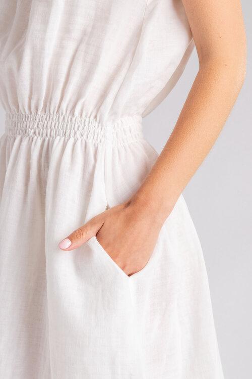 Sukienka Fraternity WL19_W-DRE-0360_VANILLA biały