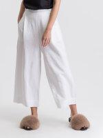Spodnie Fraternity WL19_W-TRO-0149_WHITE biały