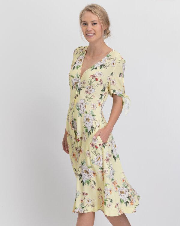 Sukienka Fraternity WL19_W-DRE-0433_YELLOW żółty