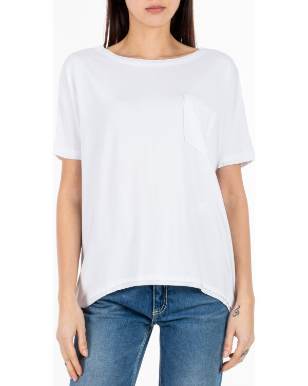T-SHIRT Fraternity NOS_W-TSH-0046 NOS_WHITE/R bialy