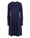 Sukienka Fraternity JZ18_W-DRE-0223_NAVY granatowy
