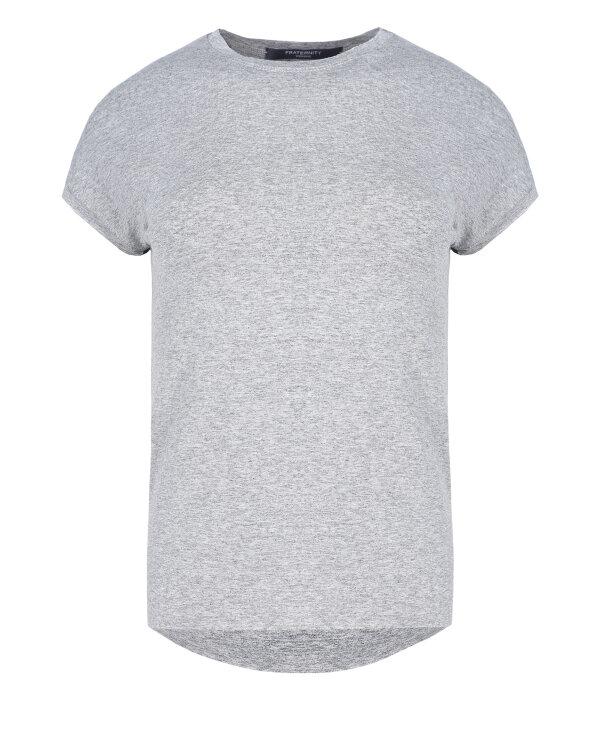 T-Shirt Fraternity NOS_W-TSH-0069 NOS_LIGHT GREY/R jasnoszary