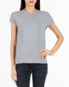 T-Shirt Fraternity NOS_W-TSH-0069 NOS_LIGHT GREY/R jasnoszary