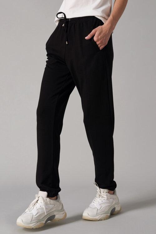 Spodnie Fraternity NOS_W-TRO-0058 NOS_BLACK czarny