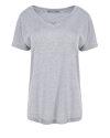 T-Shirt Fraternity NOS_W-TSH-0061 NOS_LIGHT GREY/R jasnoszary