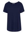 T-Shirt Fraternity NOS_W-TSH-0061 NOS_NAVY/R granatowy