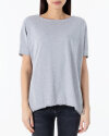 T-Shirt Fraternity NOS_W-TSH-0046 NOS_LIGHT GREY/R szary