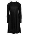 Sukienka Fraternity JZ18_W-DRE-0223_BLACK czarny