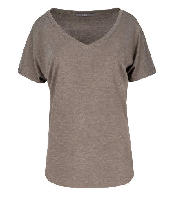 T-Shirt Fraternity JZ18_W-TSH-0061_FANGO brązowy