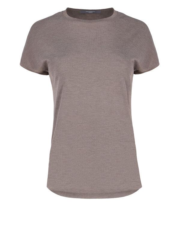 T-Shirt Fraternity JZ18_W-TSH-0069_FANGO brązowy