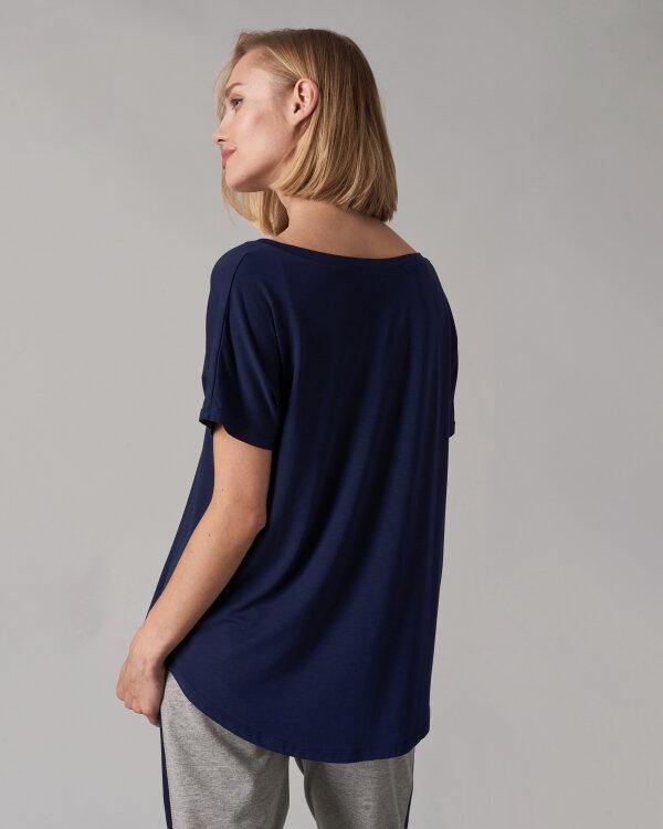 T-Shirt Fraternity NOS_W-TSH-0061 NOS_NAVY/W fioletowy