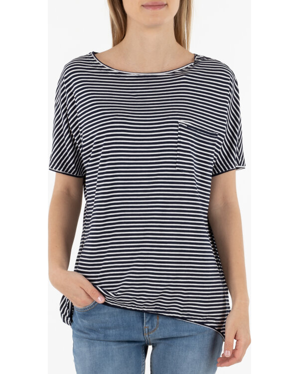 T-SHIRT Fraternity WL19_W-TSH-0046_SMALL STRIPES bialy