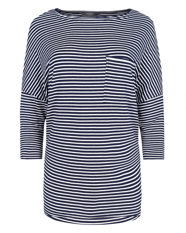 T-SHIRT Fraternity WL19_W-TSH-0041_SMALL STRIPES bialy