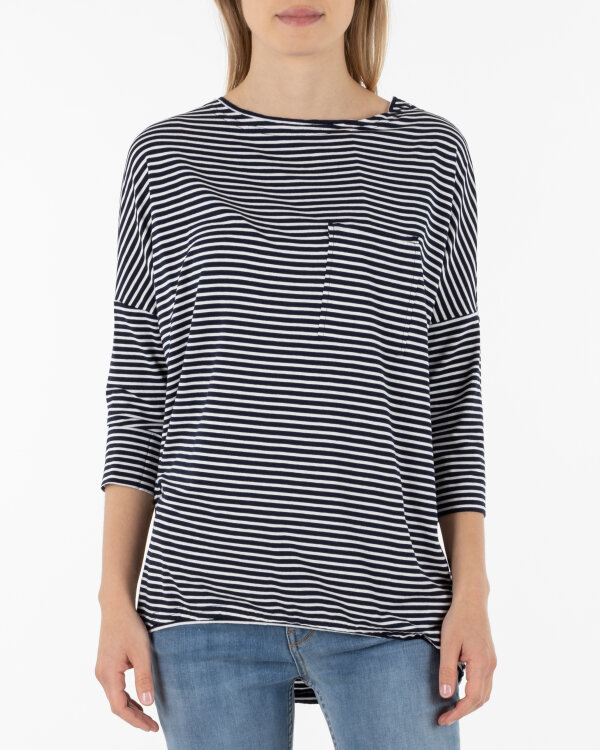T-Shirt Fraternity WL19_W-TSH-0041_SMALL STRIPES granatowy