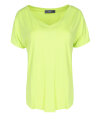 T-Shirt Fraternity WL19_W-TSH-0061_LEMON zielony