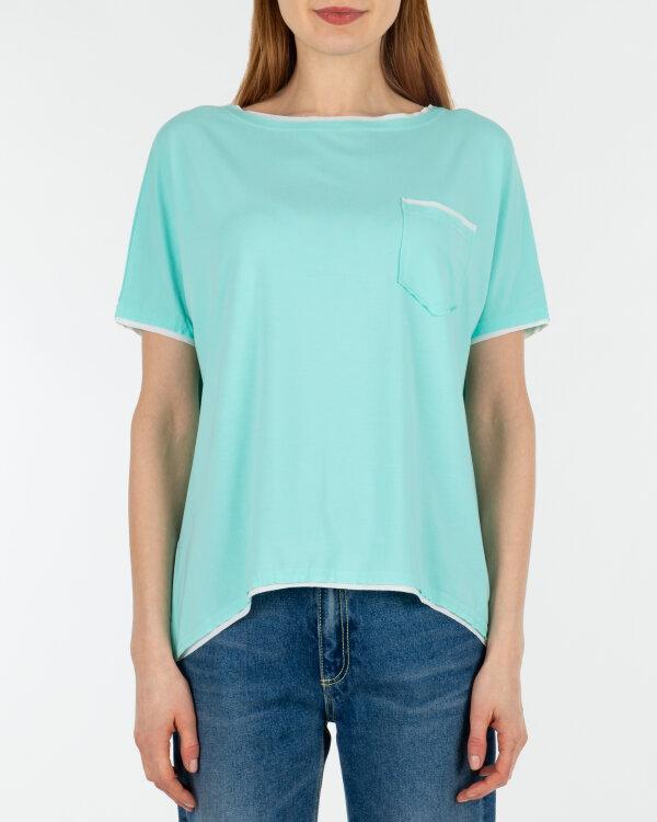 T-Shirt Fraternity WL19_W-TSH-0046_MINT niebieski