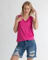 T-Shirt Fraternity WL19_W-TSH-0082_FLAMINGO PINK różowy