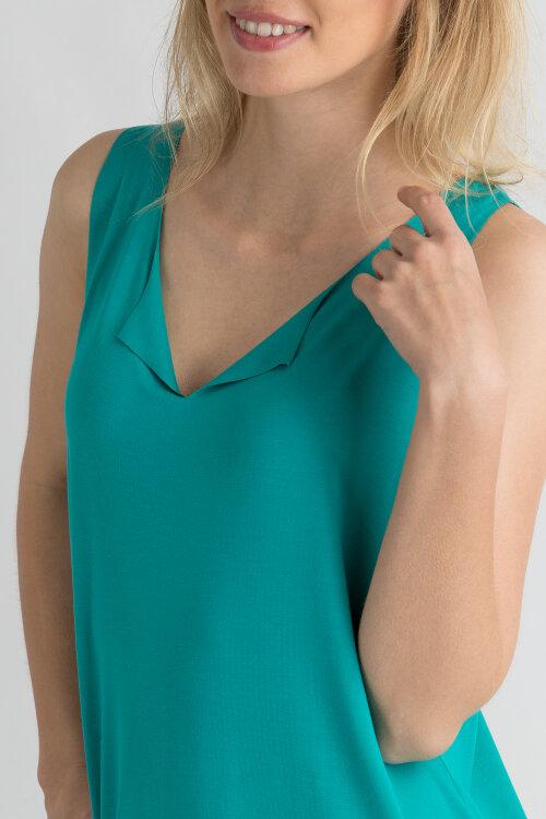 Sukienka Fraternity WL19_W-DRE-0422_LAGOON GREEN niebieski