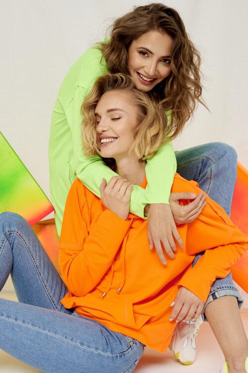 Bluza Fraternity WL19_W-BLO1-0105_FLUO ORANGE pomarańczowy