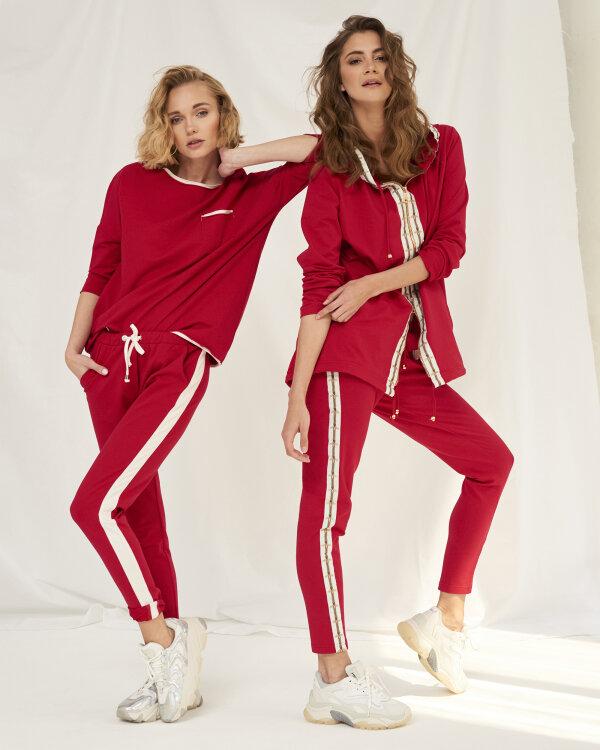 Spodnie Fraternity WL19_W-TRO-0056_RED BEE czerwony