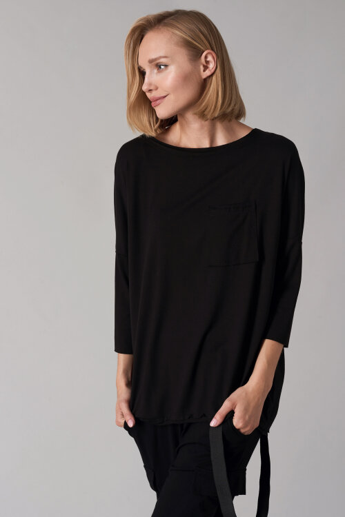 T-Shirt Fraternity NOS_W-TSH-0041 NOS_BLACK/V czarny
