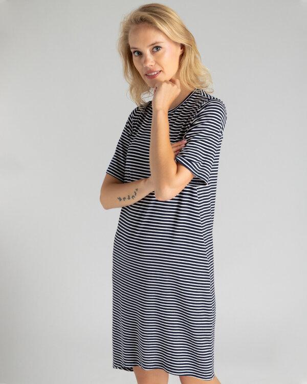 Sukienka Fraternity WL19_W-DRE-0428_SMALL STRIPES biały