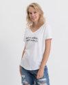 T-Shirt Fraternity WL19_W-TSH-0061_COFFE biały