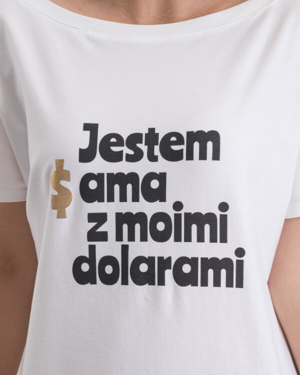 T-Shirt Fraternity WL19_W-TSH-0081_USD biały
