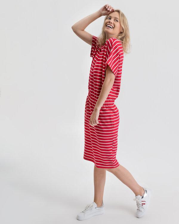 Sukienka Fraternity WL19_W-DRE-0187_RED/OFF biały