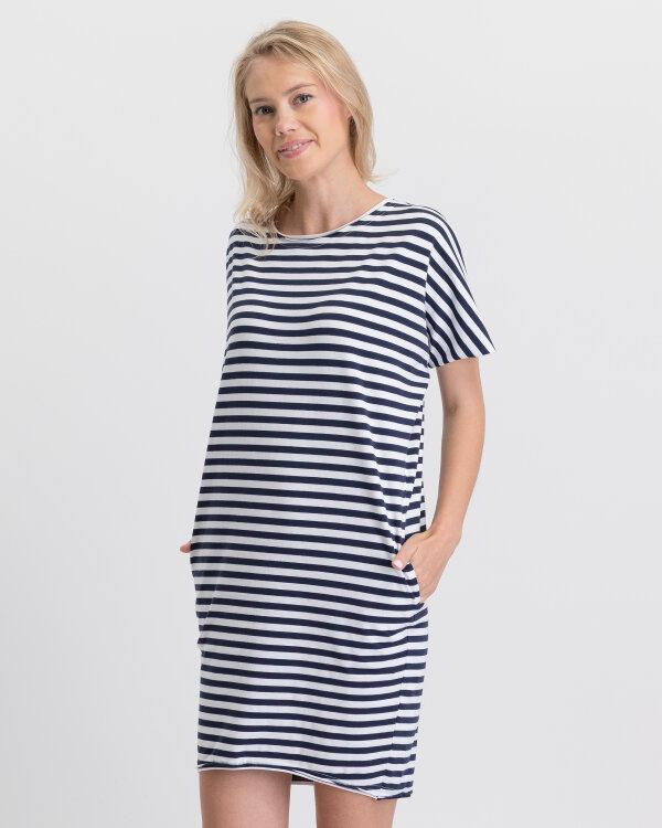 Sukienka Fraternity WL19_W-DRE-0031_WHITE/NAVY biały