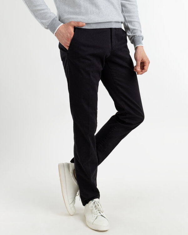 Spodnie Fraternity NOS_M-TRO-0001 DELUX_D0001 BLACK czarny