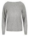 Sweter Fraternity JZ18_1643_GRIGIO szary