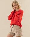 Sweter Fraternity WL19_3335_ORANGE pomarańczowy