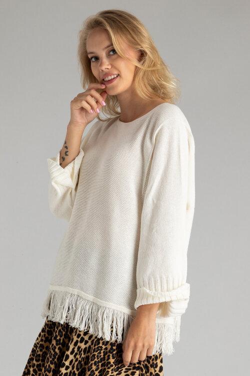 Sweter Fraternity WL19_3165_WHITE biały