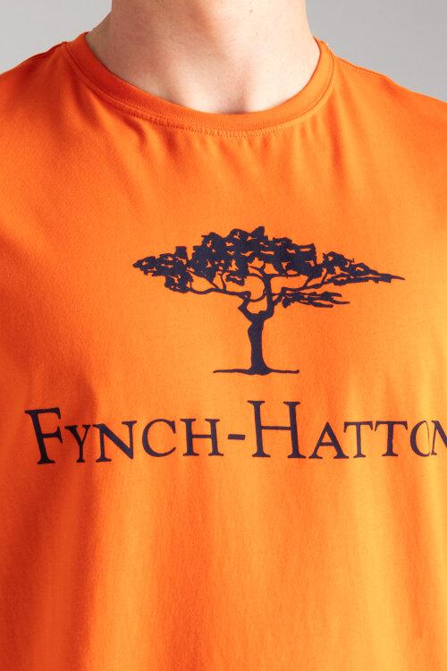 T-Shirt Fynch-Hatton 11191715_255 pomarańczowy