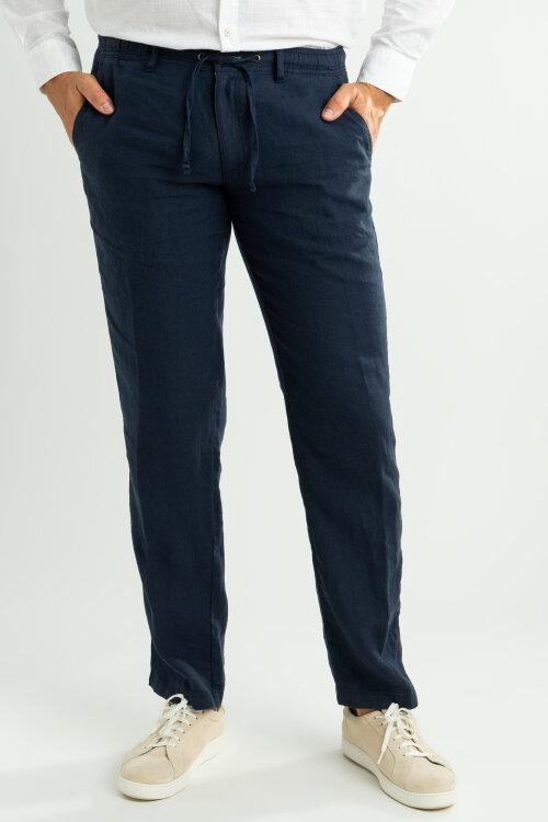 Spodnie Fynch-Hatton 11192813_681 granatowy