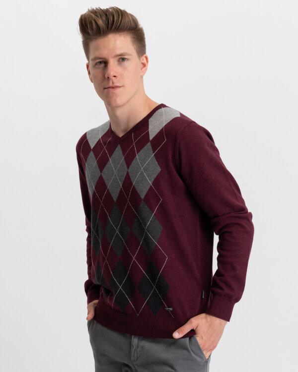 Sweter Fynch-Hatton 1219227_1306 bordowy