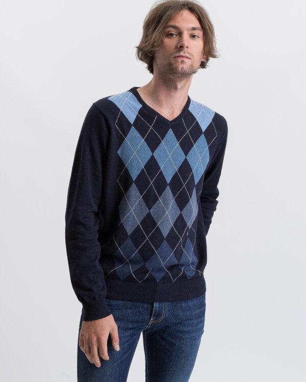 Sweter Fynch-Hatton 1219227_1667 granatowy
