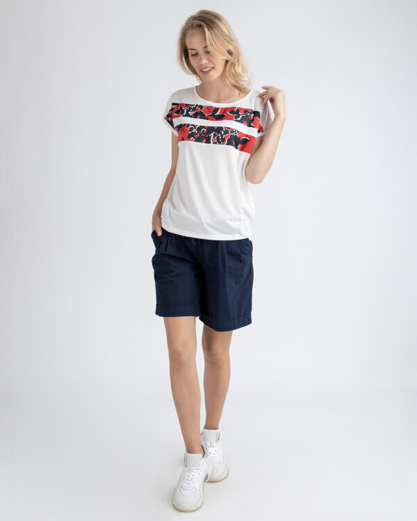 T-Shirt Gas 96712_YAELA MARINE FLOWER_0001 biały