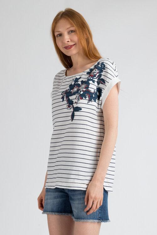 T-Shirt Gas 96161_JUSYE SEQUINS_1017 biały