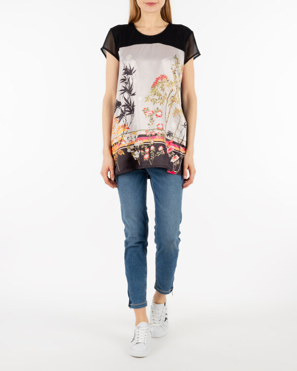 T-Shirt Gas 96957_HIMMA FLOWERING_0200 czarny