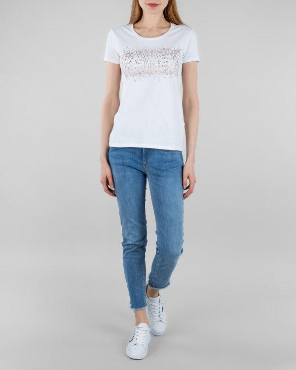 T-Shirt Gas 96501_DOLL GAS SHINY-MATT_0001 biały