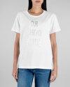 T-Shirt Gas 96698_FRANCYS WRITTEN_0001 biały