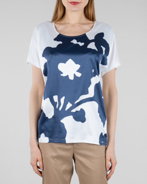 T-Shirt Gas 96709_MELYN BIG FLOWER_0001 kremowy