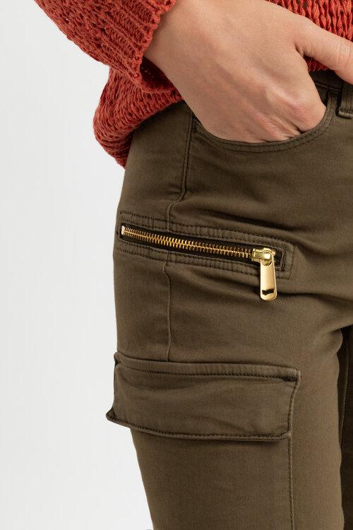 Spodnie Gas 96358_SISSYE BIKER S._3630 zielony