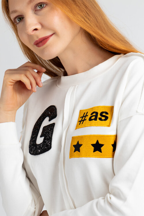 Bluza Gas 96822_Cindi G#as_1017 Biały Gas 96822_CINDI G#AS_1017 biały