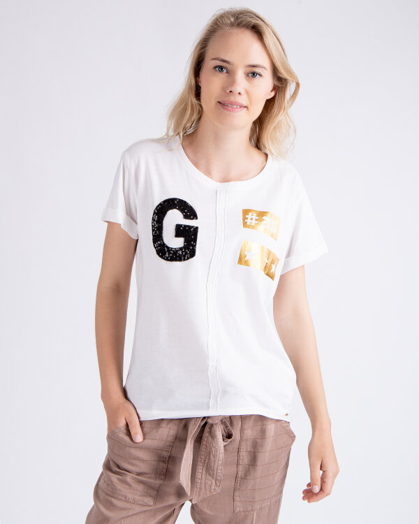 T-Shirt Gas 96837_MIRIA G#AS_0001 biały