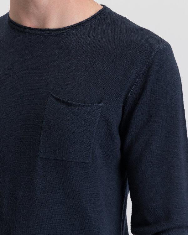 Sweter Gas 98292_PITER/S_0194 granatowy